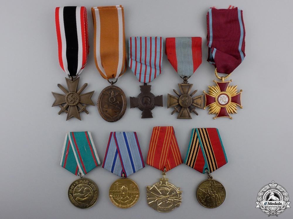 eMedals-Nine European Awards & Medals
