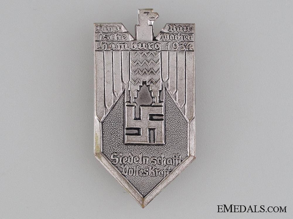 eMedals-Nordic Construction Week, Hamburg Tinnie, 1934