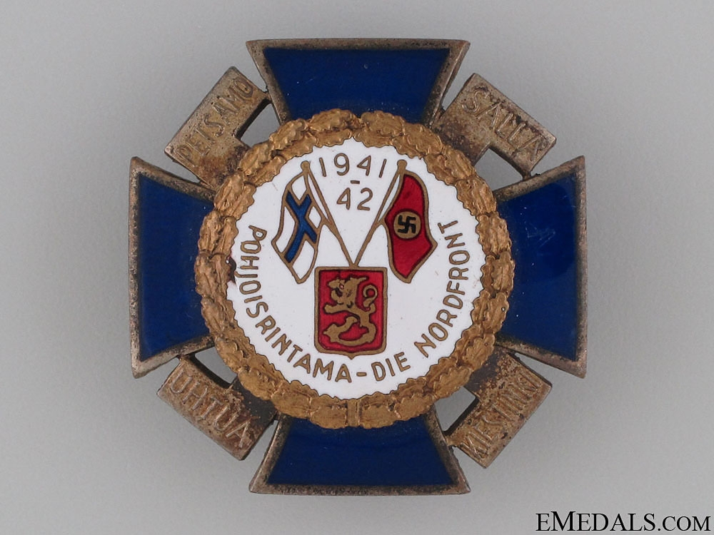 eMedals-North-Front Cross 1941-42