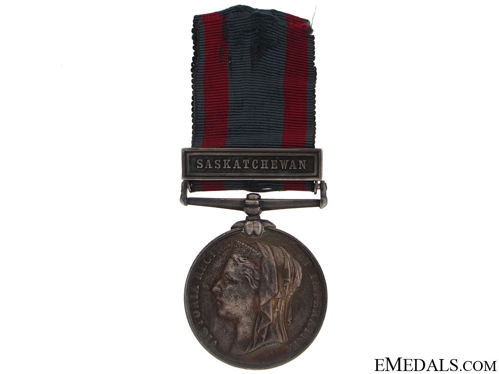 eMedals-North West Canada Medal - North West Frontier Force
