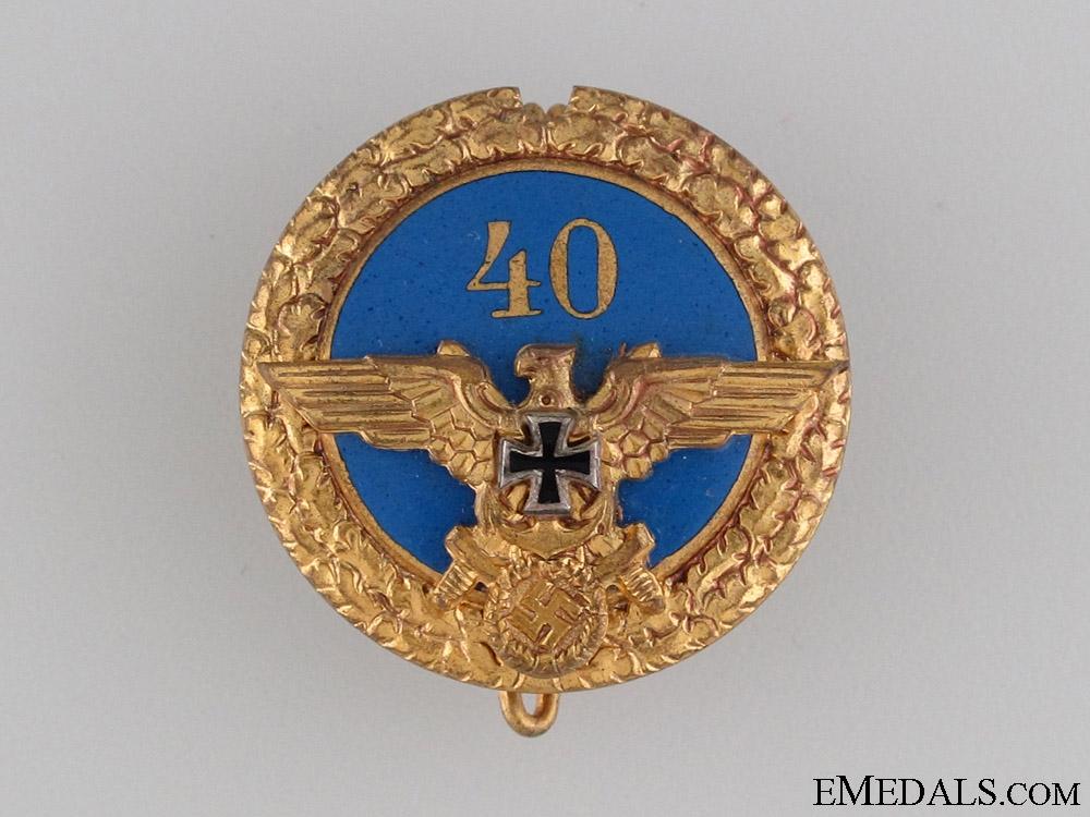 eMedals-NS-RKB Veteran Forty Year Membership Badge