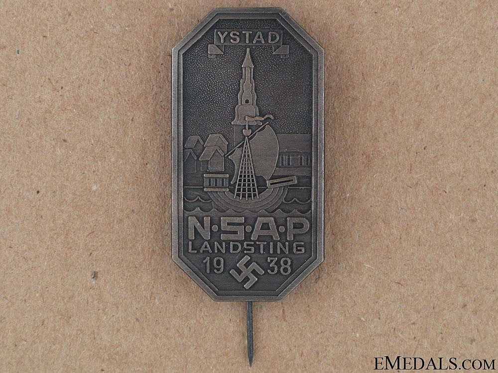 eMedals-NSAP Stick Pin Badge