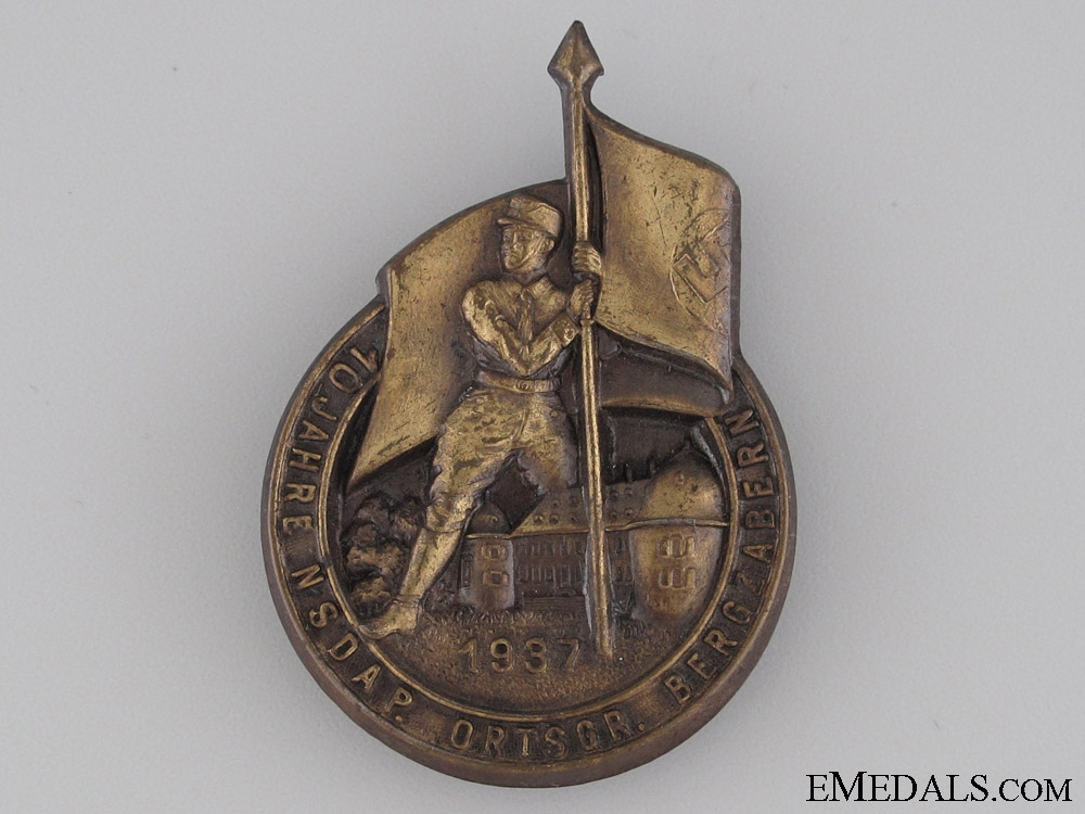 eMedals-NSDAP Day Badge 1937
