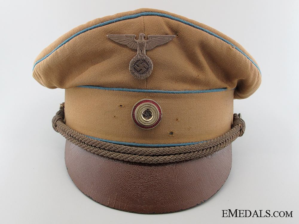 eMedals-NSDAP Local Group Leader (Ortsgruppenleiter) Pre-1939 Visor