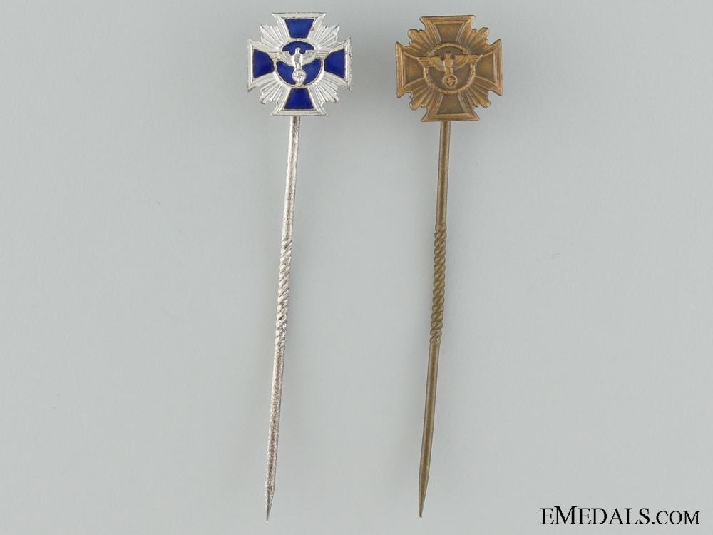 eMedals-NSDAP Long Service Miniature Awards