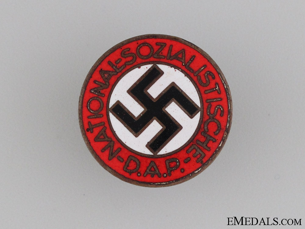 eMedals-NSDAP Membership Badge