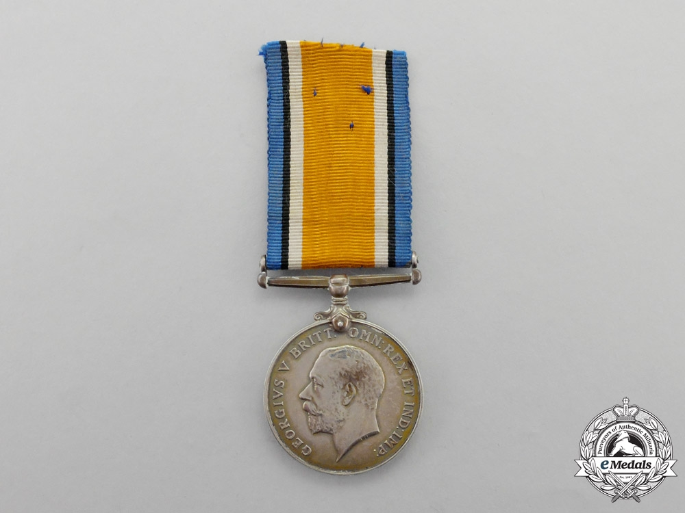eMedals-Canada. A British War Medal to McGill COTC Lieutenant  Heeney; Canadian Engineers