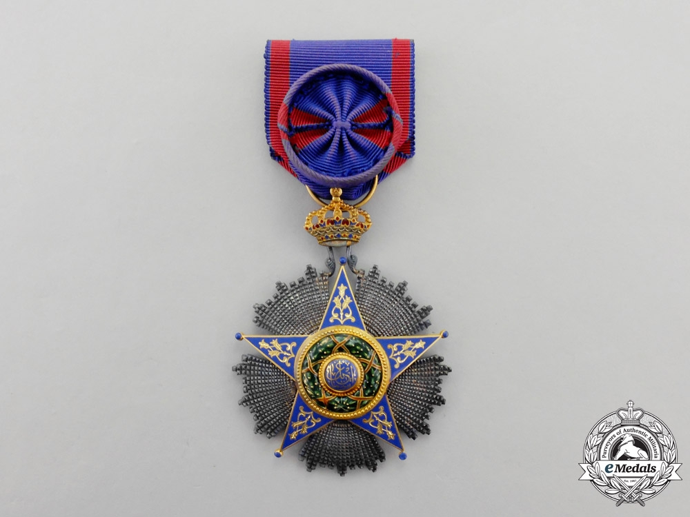 eMedals-Egypt. A French-Made Order of Ismail, Officer by Lattes