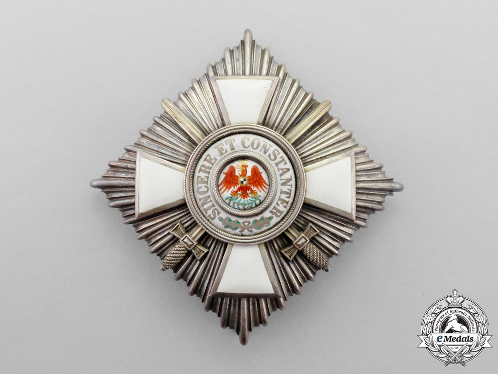 eMedals-Prussia. An Order of the Red Eagle Second Class with Swords by J. Godet & Sons of Berlin