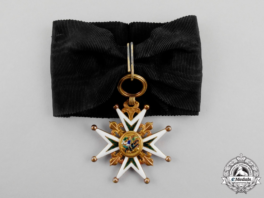 eMedals-France. A Rare Badge of the Order of St. Michael, Commander's Neck Badge