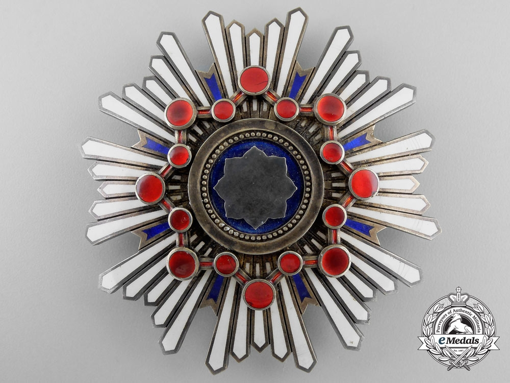 eMedals-Japan, Empire. An Order of the Sacred Treasure, I Class Star, c.1930