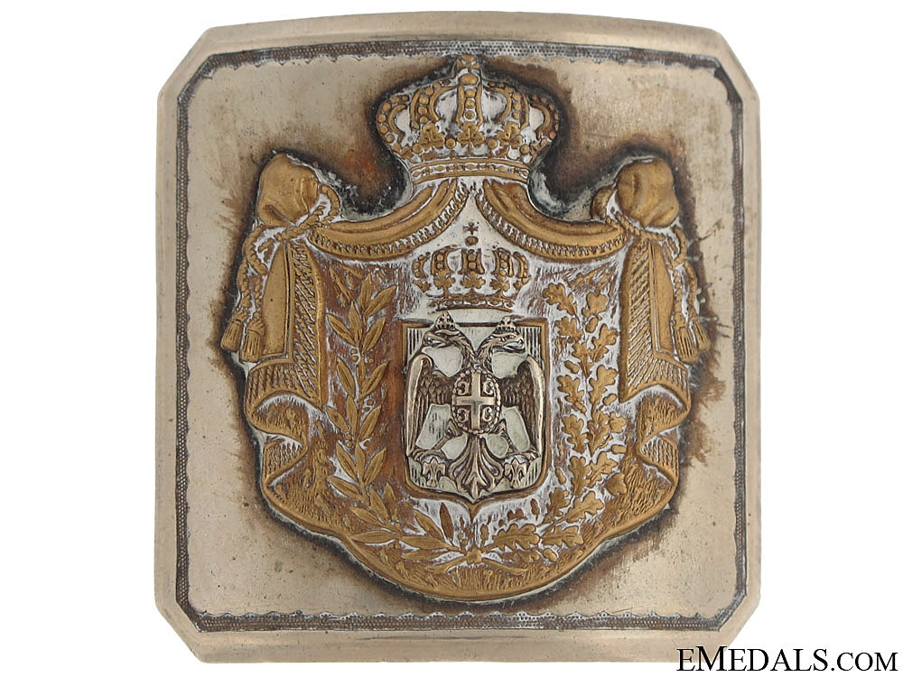eMedals-Officer's Belt Buckle c. 1900