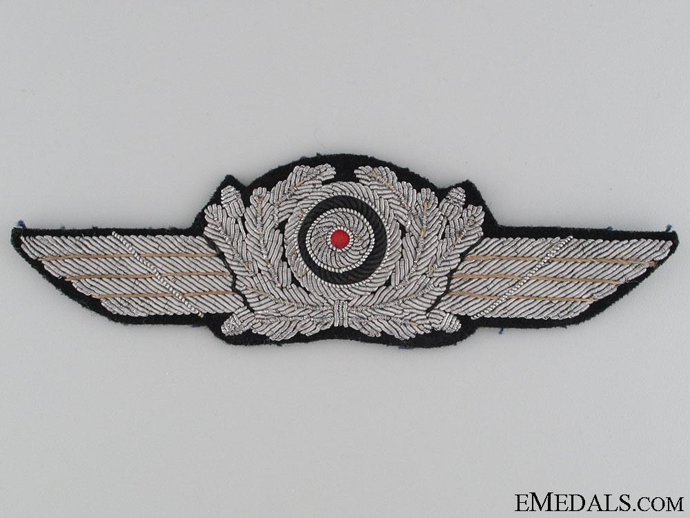 eMedals-Officer's Visor Cap Wreath and Cockade