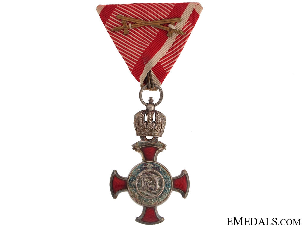 eMedals-Silver Cross of Merit with Crown