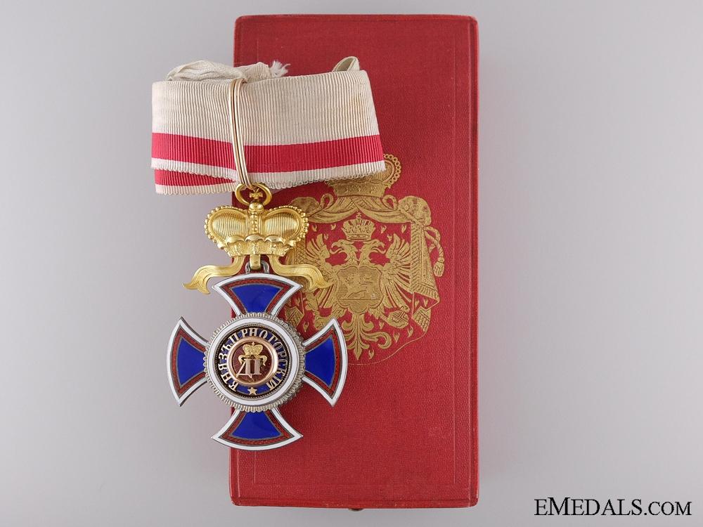 eMedals-Order of Danilo by Vinc Mayer; Commander's Cross