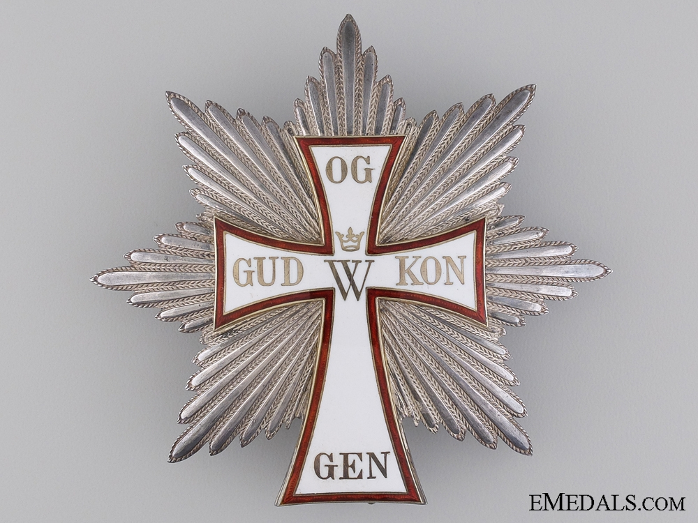 eMedals-The Danish Order of Dannebrog; Grand Cross Star