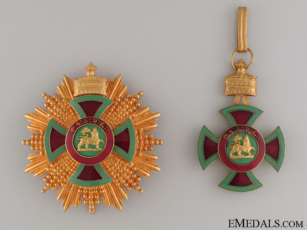 eMedals-Order of Emperor Menelik II - Grand Cross Set