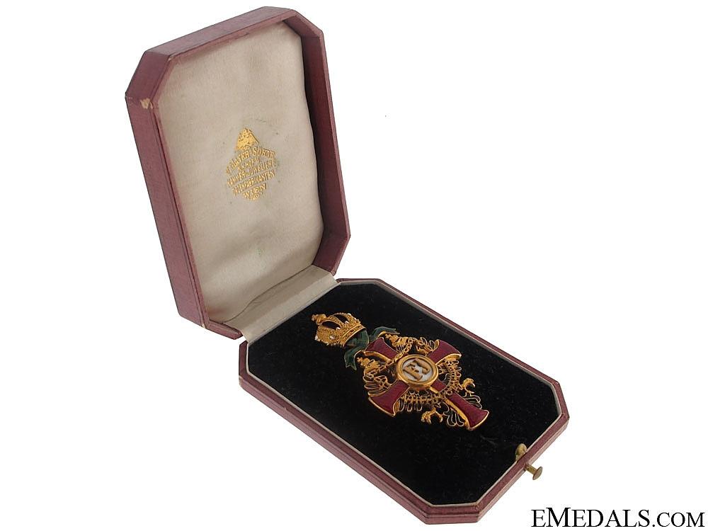 eMedals-Order of Franz Joseph