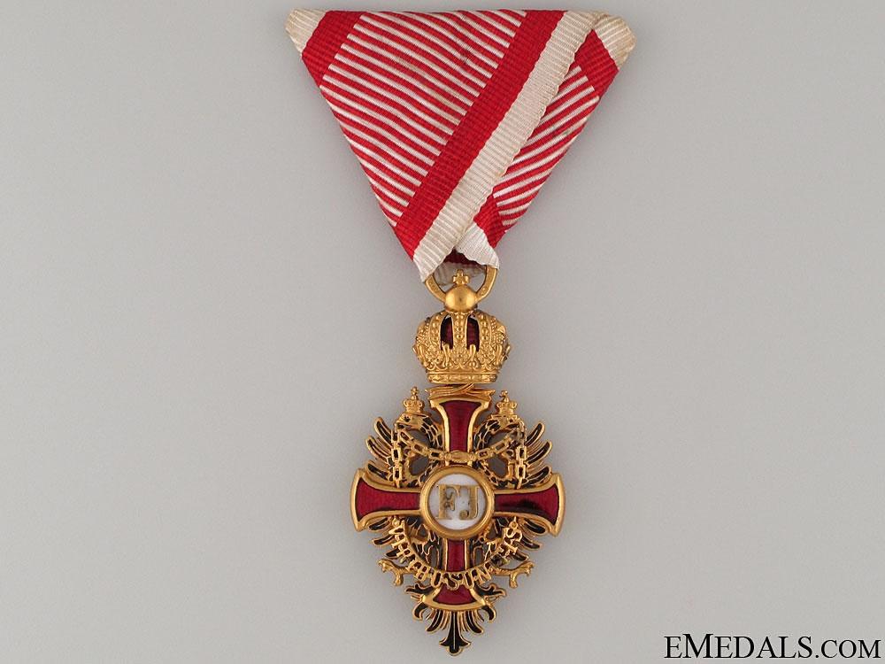 eMedals-Order of Franz Joseph by V.Mayer & Shone