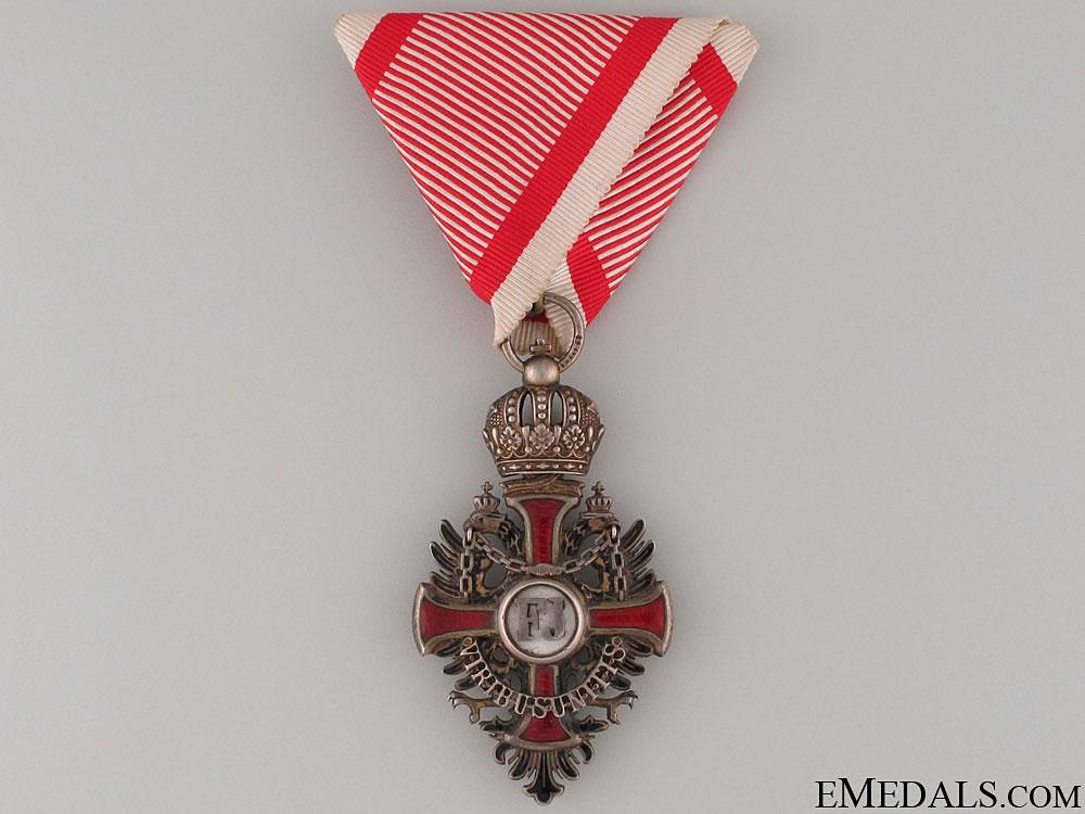 eMedals-Order of Franz Joseph - Knight's Cross