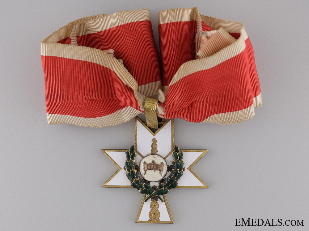 eMedals-Order of King Zvonimir with Oakleaves; First Class Cross