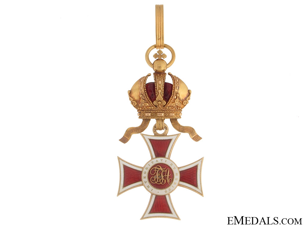 eMedals-Order of Leopold – First Class in Gold
