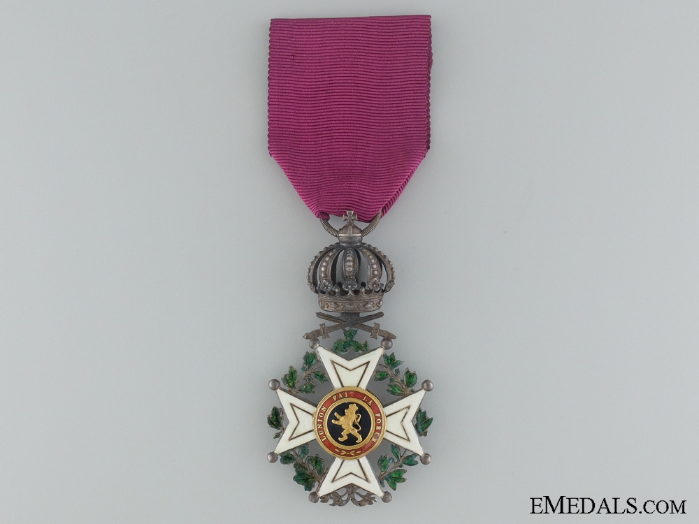eMedals-Order of Leopold I; First Class with Swords