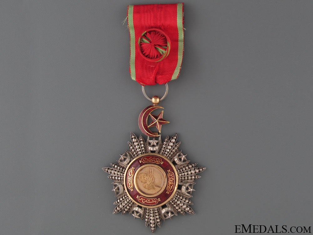 eMedals-Order of Medjidie (Mecidiye) by P. Stopin