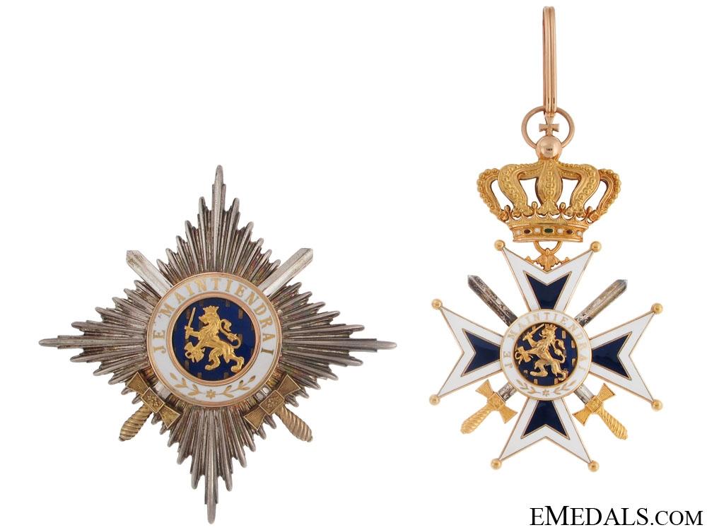eMedals-Order of Orange-Nassau, Military – Gold