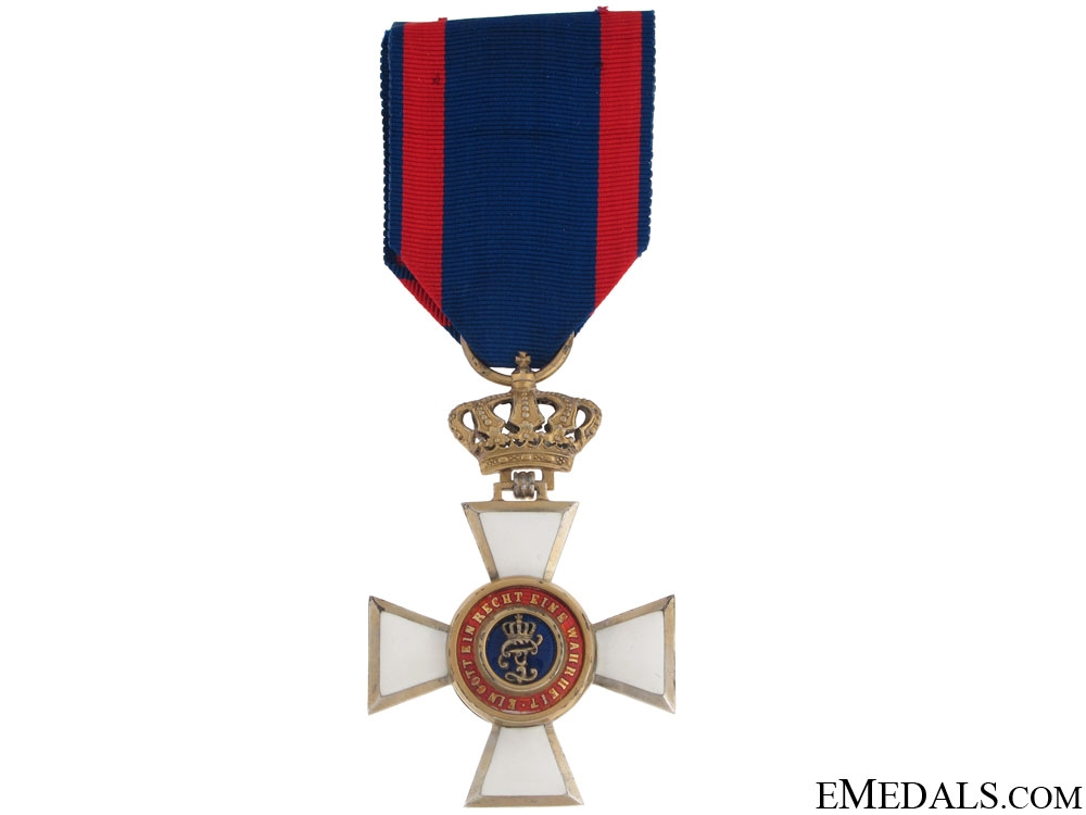 eMedals-Order of Peter Friedrich Ludwig- Knight 1st. Class