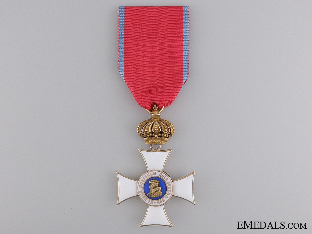eMedals-Order of Philip the Brave with Crown Suspension; Knights Cross First Class