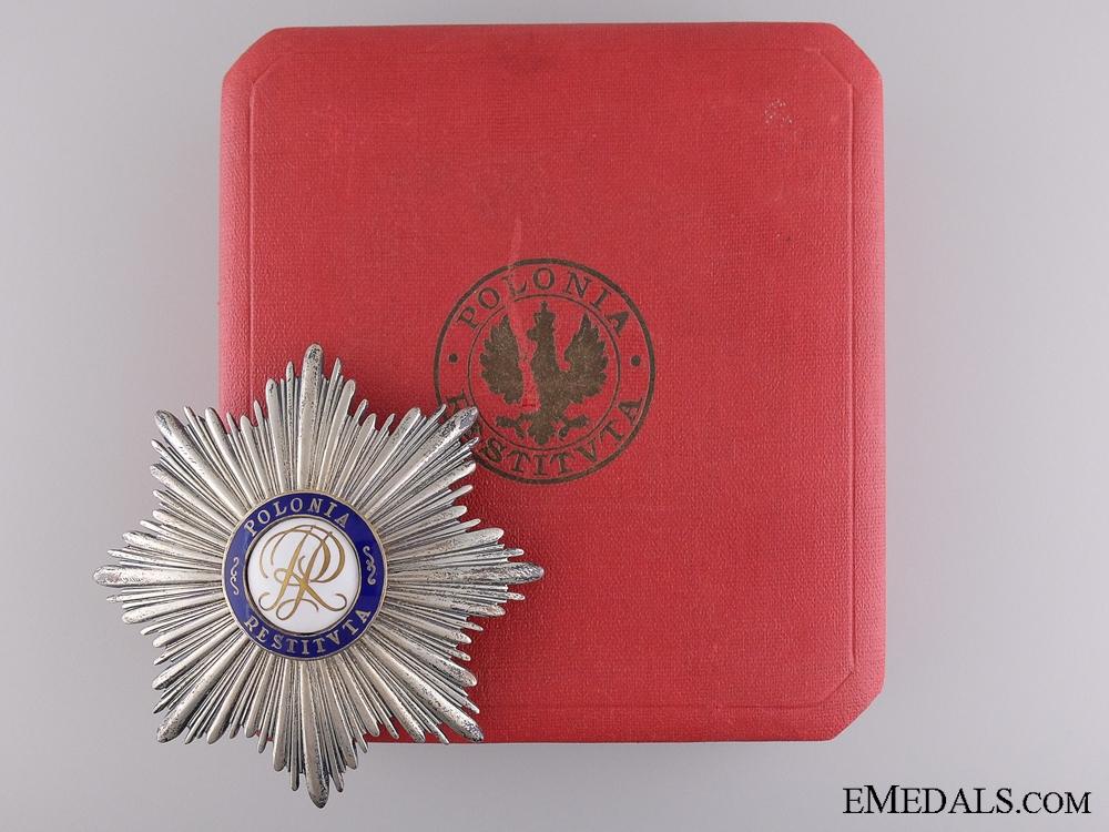eMedals-An Order of Polonia Restituta; Breast Star c.1935