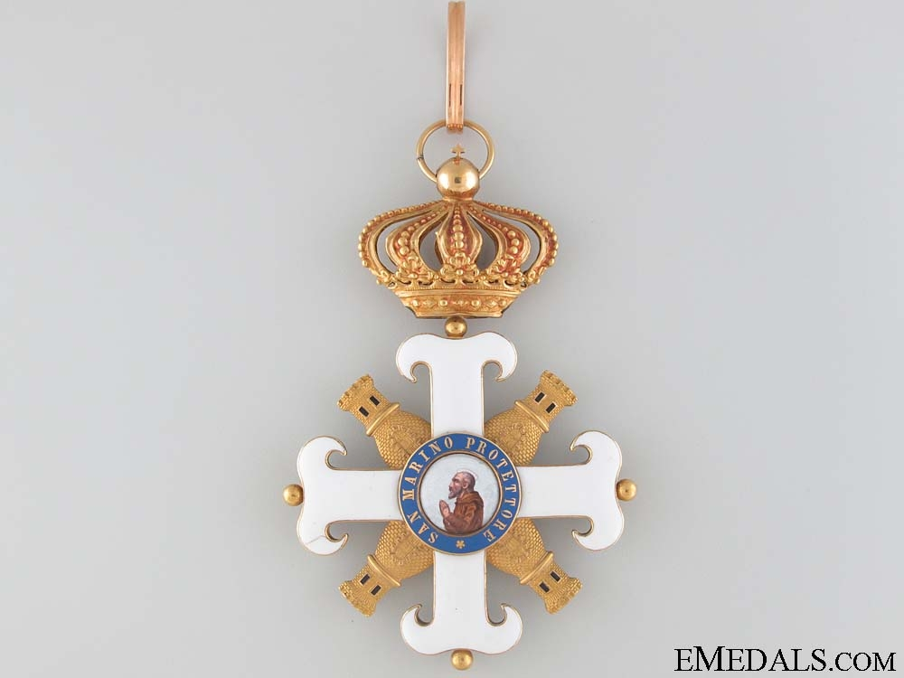 eMedals-Order of San Marino - Military Commander's Cross