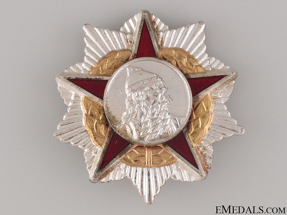 eMedals-Order of Scanderbeg - Second Class