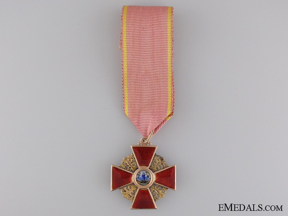 eMedals-Order of St. Anne in Gold; Third Class Cross