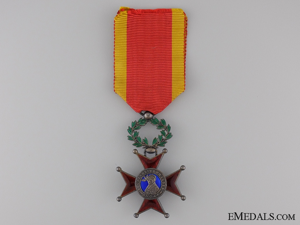 eMedals-Order of St. Gregory; Knight's Badge