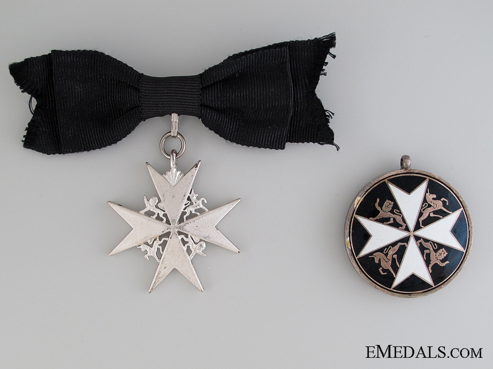 eMedals-Order of St. John Pair