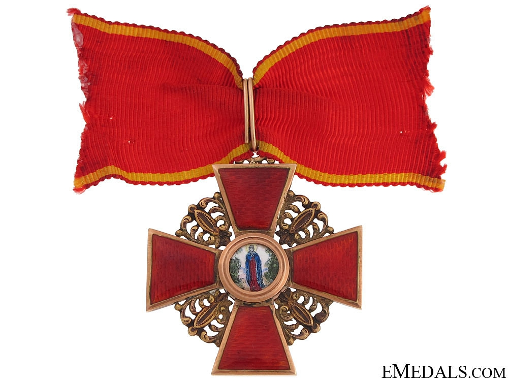 eMedals-Order of St.Anne - Third Class c.1900