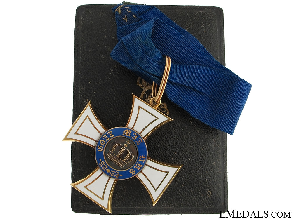 eMedals-Order of the Crown - Commander's Cross