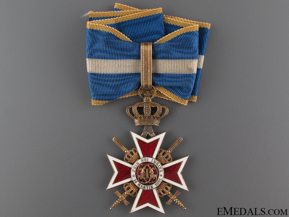eMedals-Order of the Crown- Type II (1932-1946)