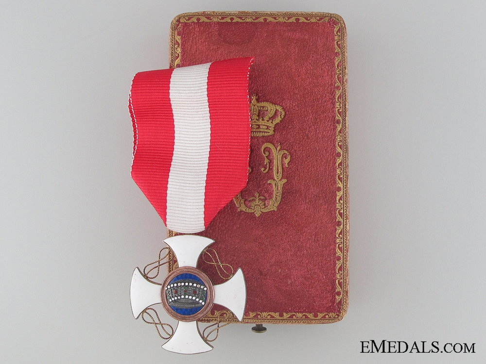 eMedals-Order of the Crown of Italy - Knight