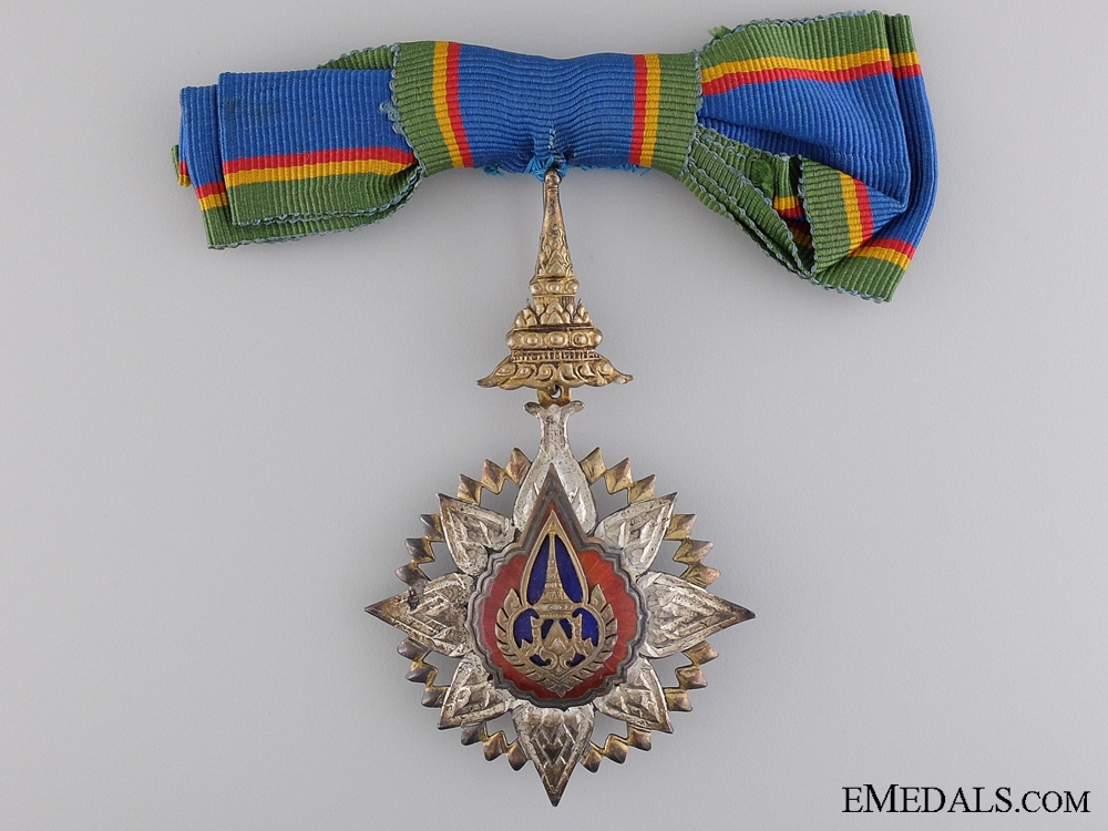eMedals-Order of the Crown of Thailand; Breast Badge