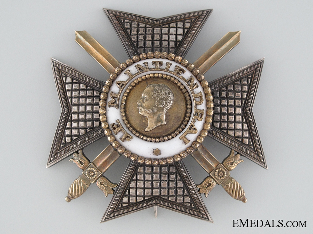 eMedals-Luxemburg, Order of the Golden Lion with Swords