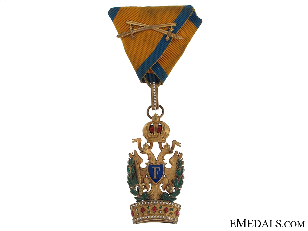 eMedals-Order of the Iron Crown - WWI Period