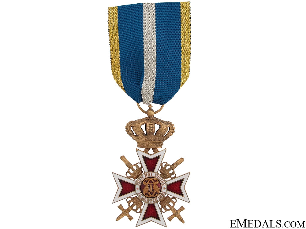 eMedals-Order of the Romanian Crown with Swords