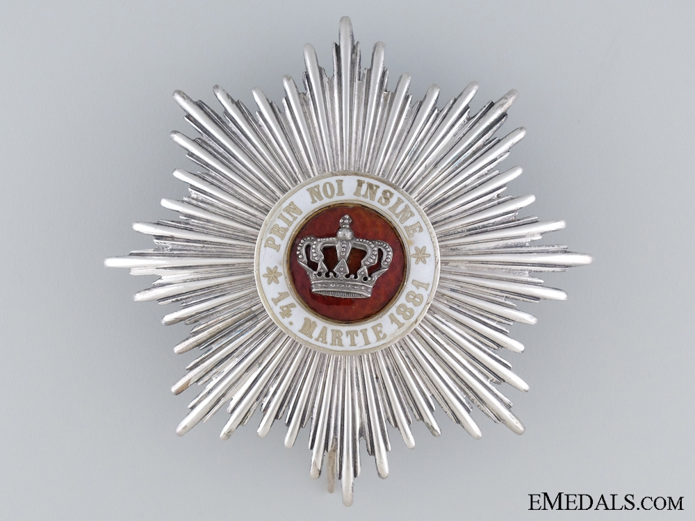 eMedals-Order of the Romanian Crown; Grand Officers Star Second Class