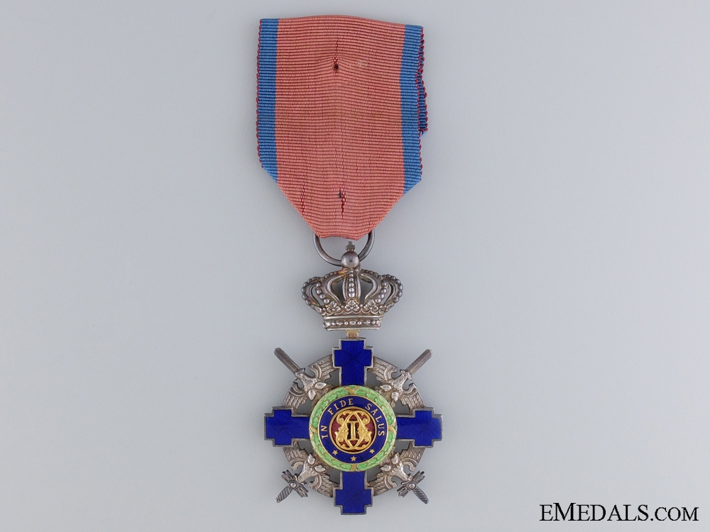 eMedals-Order of the Star of Romania with Swords; Knight Cross Type II