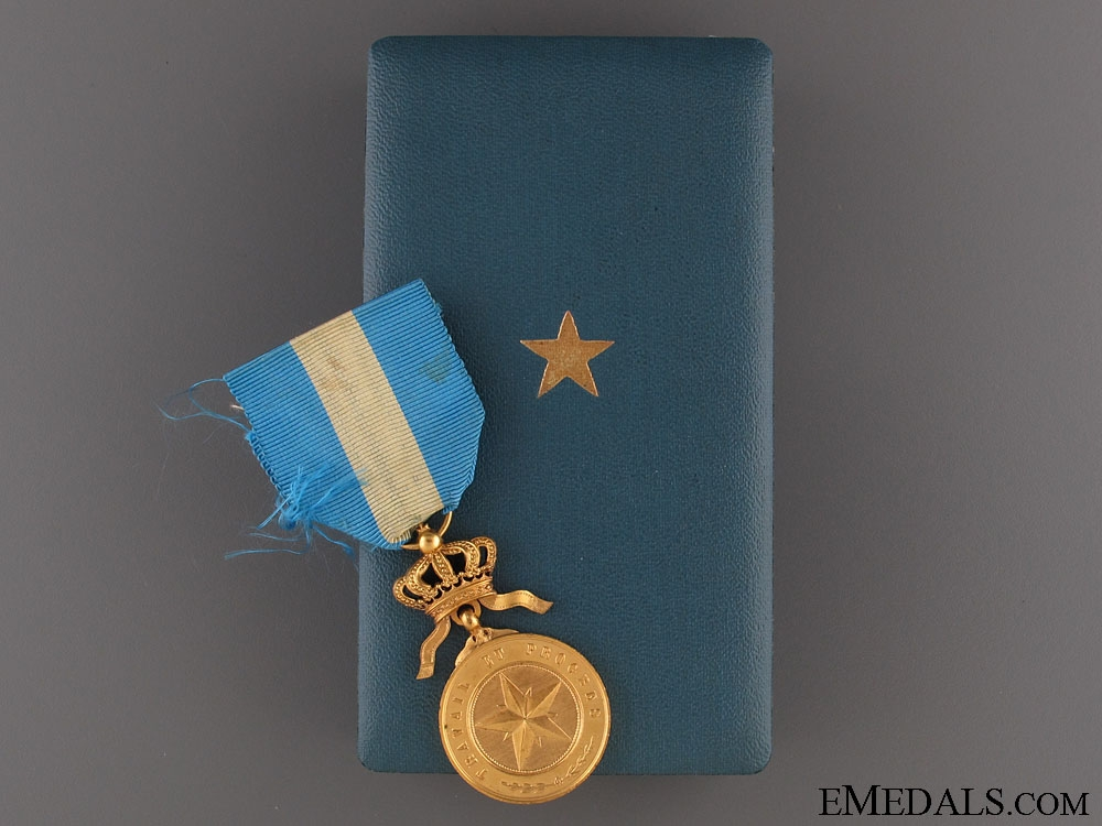 eMedals-Order of the Star of Africa - Gold Grade Medal