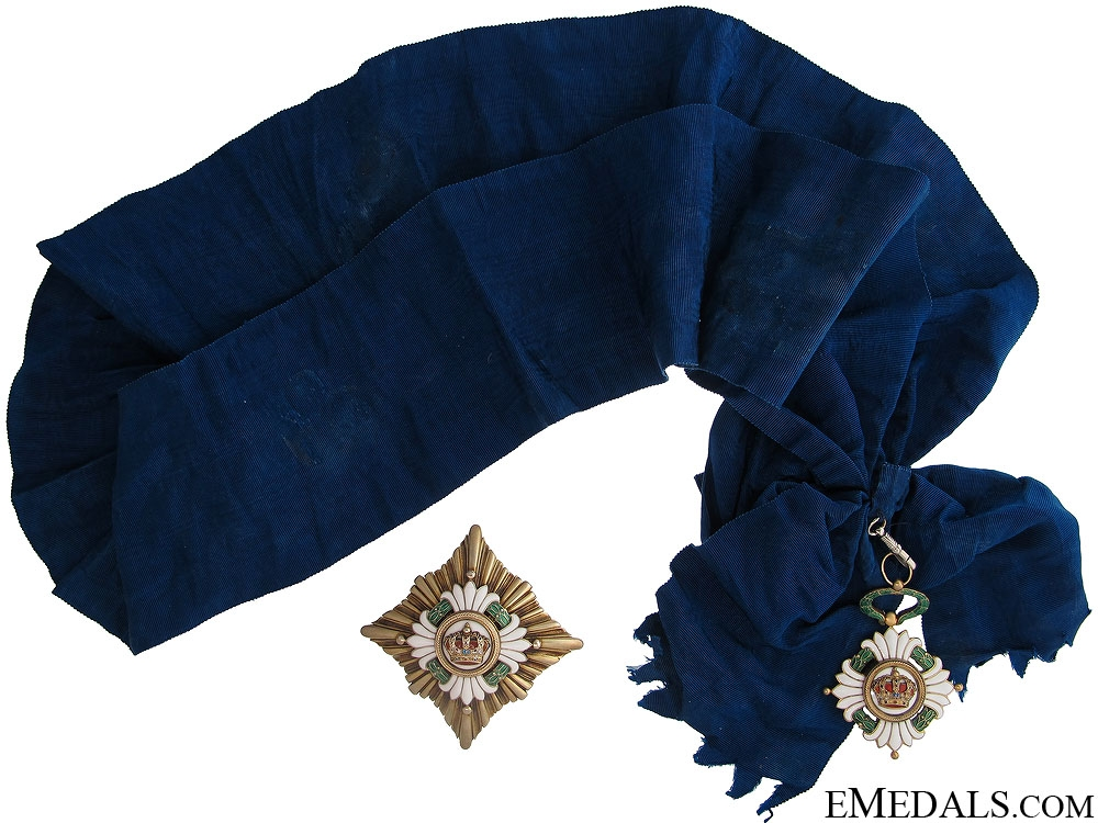 eMedals-Order of the Yugoslav Crown - Grand Cross Set