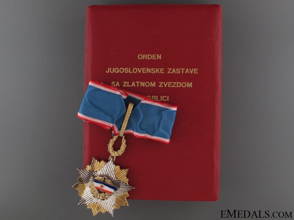 eMedals-Order of the Yugoslav Flag - Commander